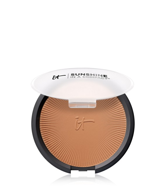IT Cosmetics Sunshine in a Compact Bronzer- Warmth