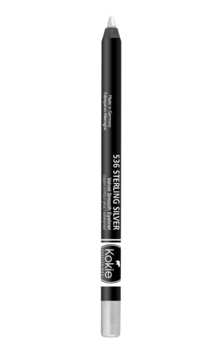 Kokie Cosmetics Velvet Smooth Eyeliner Pencil- Sterling Silver