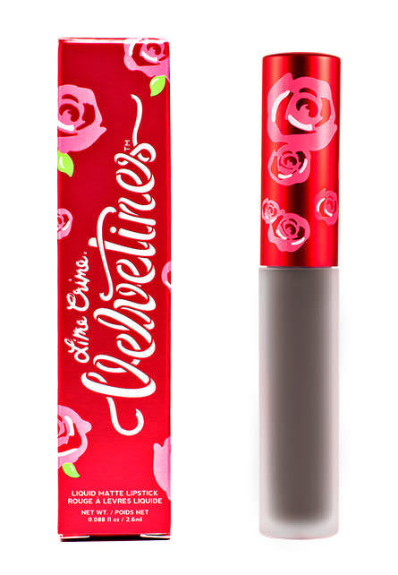 Lime Crime Makeup - Cement (Cool Grey) Lipstick