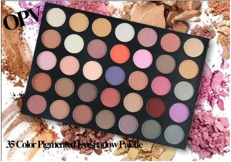 OPV Lashes - 35 Color Eyeshadow Palette