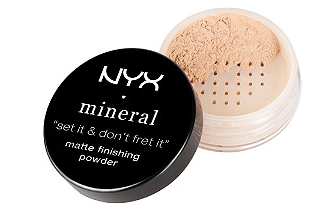 NYX Mineral Finishing Powder- Light/Medium